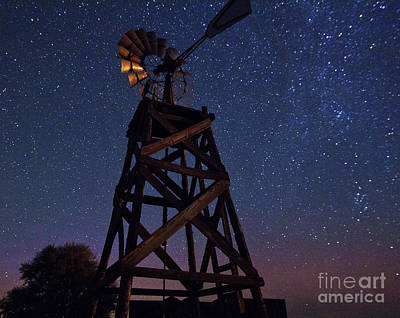 Astro Photograph - Windmills Of Time by Betty Doran