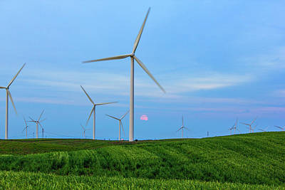 Photograph - Windmills by Randy Bayne