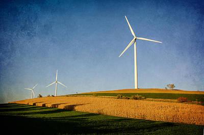 Winter Animals - Windmills by Susan McMenamin