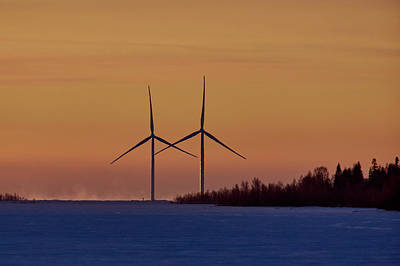 Photograph - Windmills Sync by Jouko Lehto