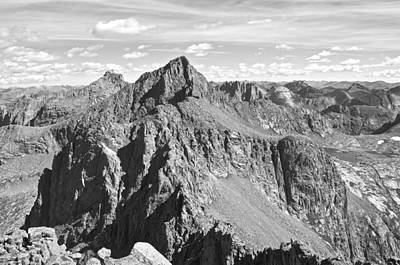 Wilderness Photograph - Windom And Sunlight Peak From Jupiter Mountain by Aaron Spong