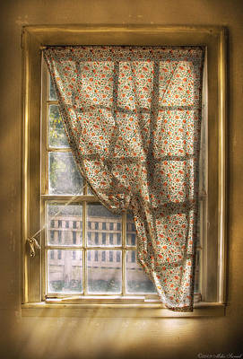 Photograph - Window - Letting A Little Light In  by Mike Savad