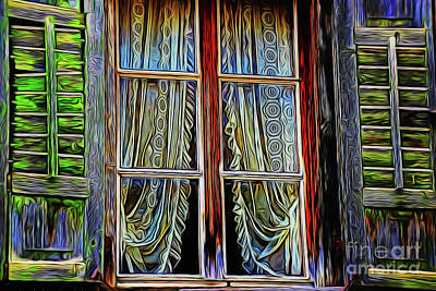 Photograph - Window 19618 by Ray Shrewsberry