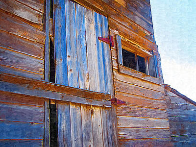 Art Print featuring the photograph Window 3 by Susan Kinney