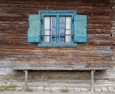 Photograph - Window And Bench by Yair Karelic