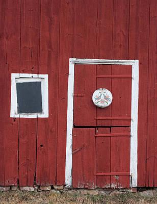 Window And Door Art Print by Robert Sander