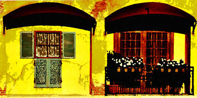 Window And Doors Art Print by Lyle  Huisken