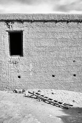 Photograph - Window And Ladder, Shey, 2005 by Hitendra SINKAR