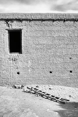 Photograph - Window And Ladder, Shey, 2005 by Hitendra SINKAR