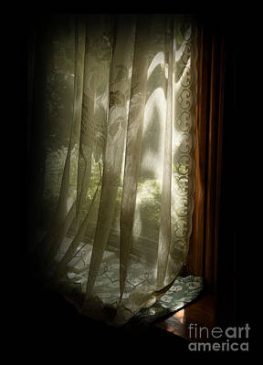 Photograph - Window And Light by Charles Owens