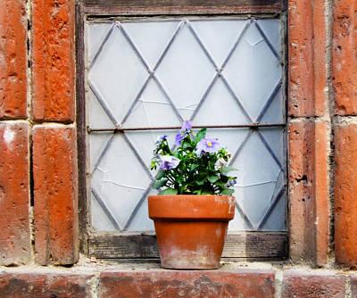 Window And Pots I Art Print by Carl Jackson