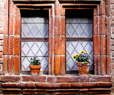 Window And Pots II Art Print by Carl Jackson