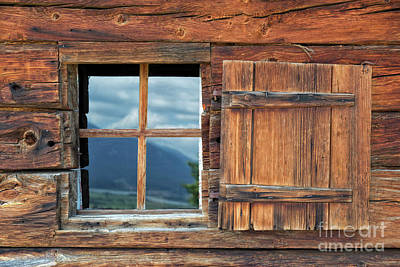 Photograph - Window And Reflection by Yair Karelic