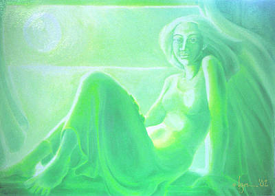 Painting - Window by Angela Treat Lyon