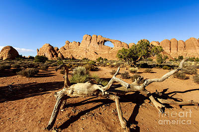 Photograph - Window At Arches National Park by Ben Graham
