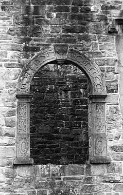Donegal Photograph - Window At Donegal Castle Ireland by Teresa Mucha