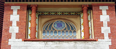 Photograph - Window At Flagler College by D Hackett