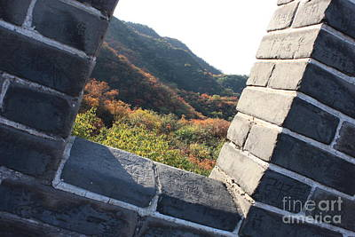 Photograph - Window At The Great Wall by Carol Groenen