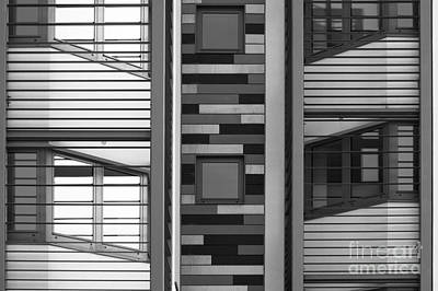 Photograph - Horizontal Vertical Abstract by Wendy Wilton