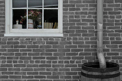 Photograph - Window Barrel by Dylan Punke
