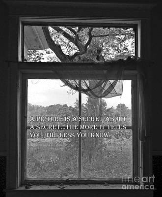 Photograph - Window by Catherine Hill