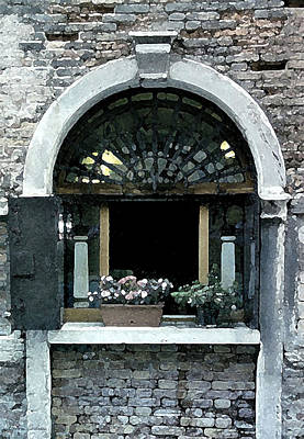 Digital Art - Window Charm by Donna Corless