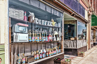 Photograph - Window Coffee by Sharon Popek