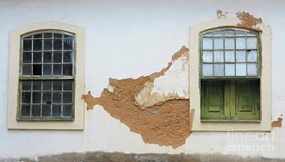 Photograph - Window Detail by Vivian Christopher