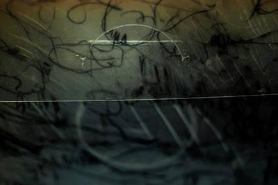 Photograph - Window Drawing 08 by Grebo Gray
