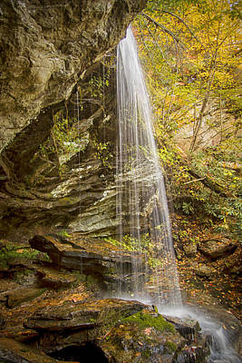 Photograph - Window Falls In The Autumn by Bob Decker
