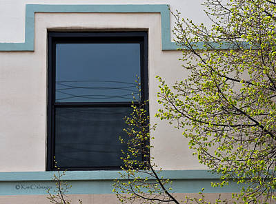 Photograph - Window Framed And Frilled by Kae Cheatham