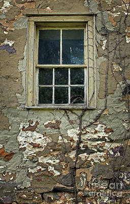 Photograph - Window From The Past by John Stephens
