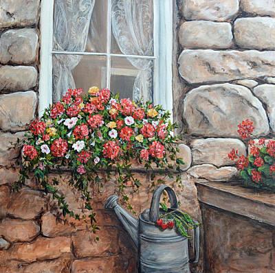 Window Garden Original by Sherry Montgomery