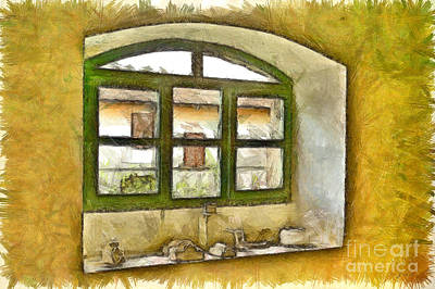 Digital Art - Window by Giuseppe Cocco