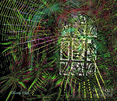 Alienation Digital Art - Window Glory by Dorothy Pugh