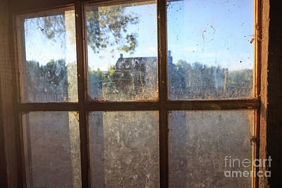 Photograph - Window Grafton Ghost Town by Edward Fielding