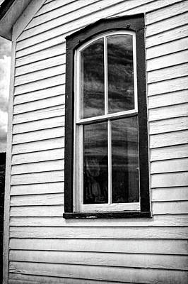 Photograph - Window Guy Hill Schoolhouse by Ann Powell