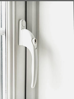 Window Handle Art Print by Tom Gowanlock