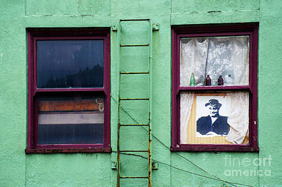 Photograph - Window Humor Alaska by Bob Christopher