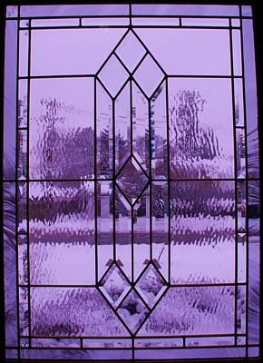 Window I Art Print by Anna Villarreal Garbis