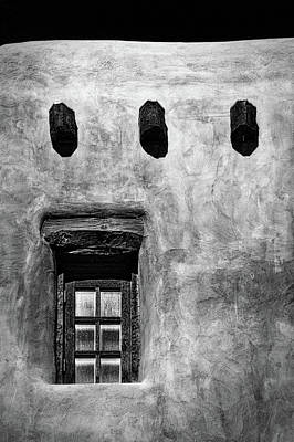 Photograph - Window In An Adobe Wall #2 by Stuart Litoff