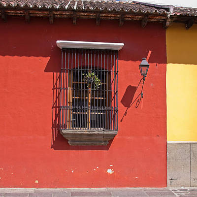 Photograph - Window In Antigua, Guatemala by Tatiana Travelways