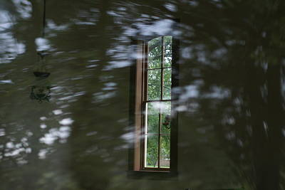 Photograph - Window In Dreamworld by Bj Hodges