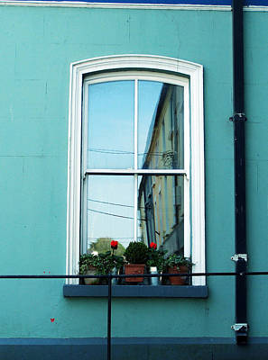 Window In Ennistymon Ireland Art Print