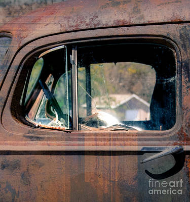 Window In Rural America  Art Print by Steven Digman
