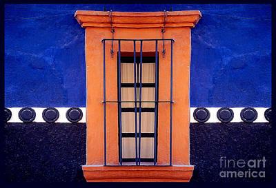 Window In San Miguel De Allende Art Print by Linda  Parker