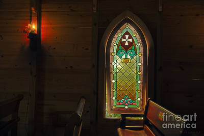 Photograph - Window In The Old Church by David Arment