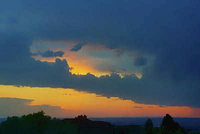 Photograph - Window In The Sky - Albuquerque Sunset by Nikolyn McDonald