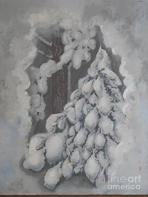 Window In The Storm Art Print