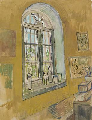 Painting - Window In The Studio Saint-remy-de-provence, September - October 1889 Vincent Van Gogh 1853 - 1890 by Artistic Panda